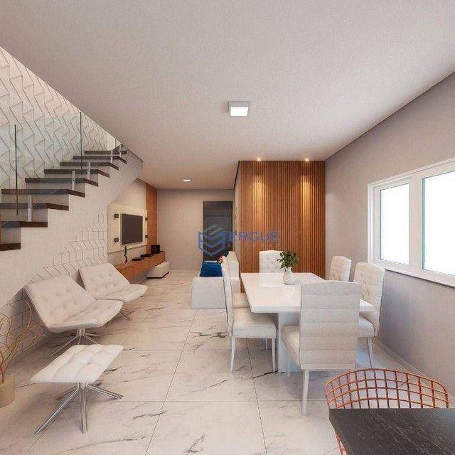 Casa com 3 dormitórios à venda, 132 m² por R$ 469.000,00 - Coité - Eusébio/CE - Foto 4