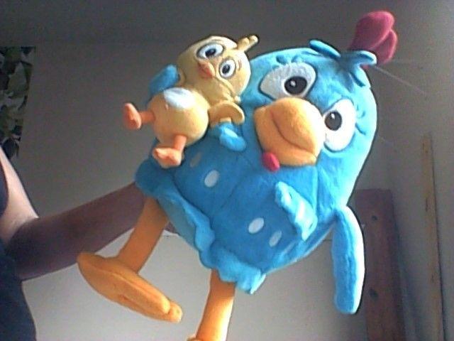 Bonecos Galinha Pintadinha e Pintinho - Foto 3