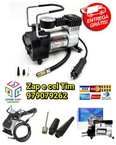 Compressor De Ar Veicular Profissional Portatil 12v Carro Le-975 - It Blue - Foto 5