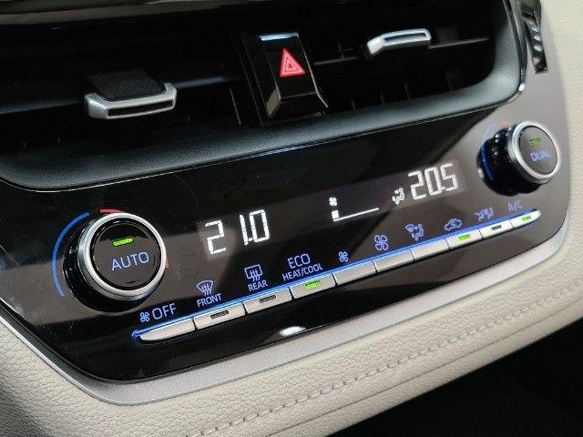 corolla altis premium hybrid 1.8 flex 2021 aceito troca - Foto 11