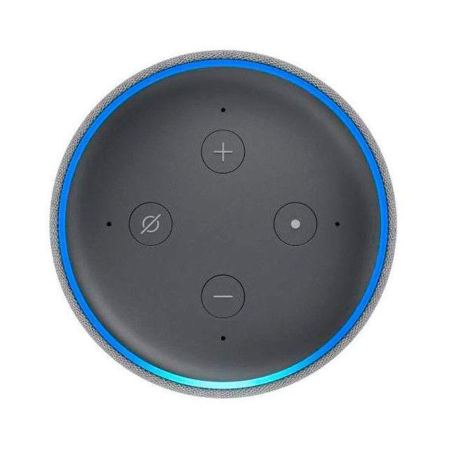 Alexa Amazon Echo Dot 3 Geração - Preto - Foto 3