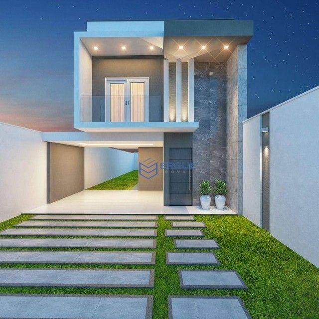 Casa com 3 dormitórios à venda, 132 m² por R$ 469.000,00 - Coité - Eusébio/CE