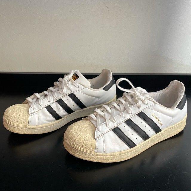 Tênis Adidas Superstar 41 - Foto 2