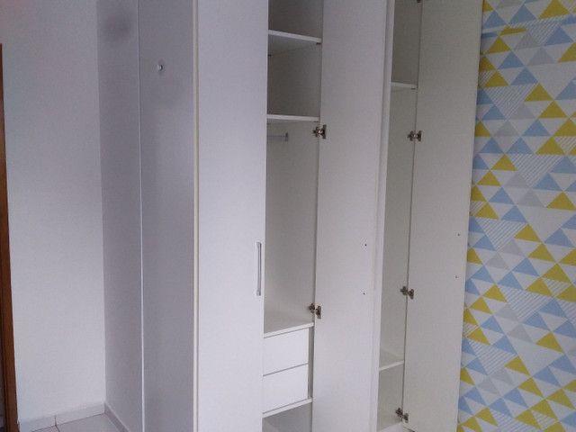 Casa Amarela 2 qts seminovo armários e guarda-roupas lazer lazer completo  - Foto 5