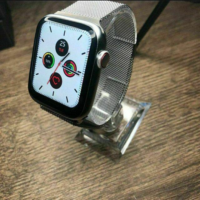 Relógio SmartWatch IWO W46 - NOVO (Compatível com Android e IOS) - Foto 3