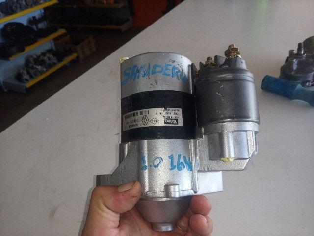 Motor de arranque sandero - Foto 4