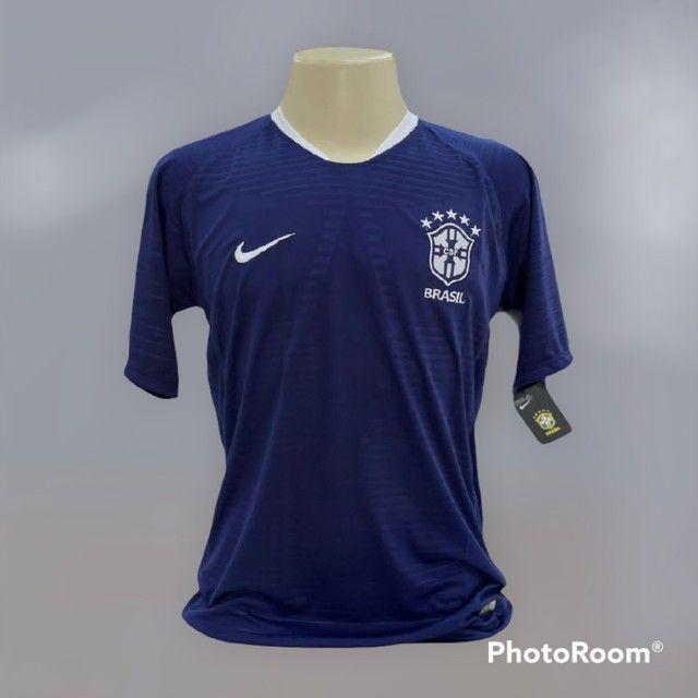 Camisa de time  1 linha nacional  - Foto 6