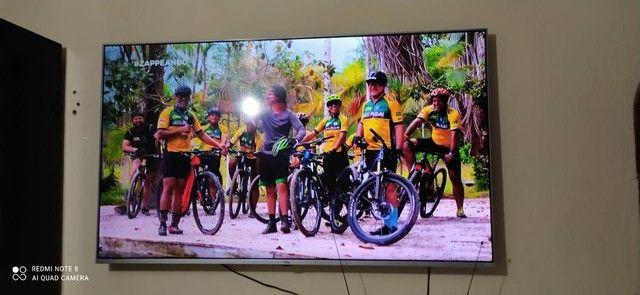 Vendo tv de 55 urgente , motivo de viagem  - Foto 2