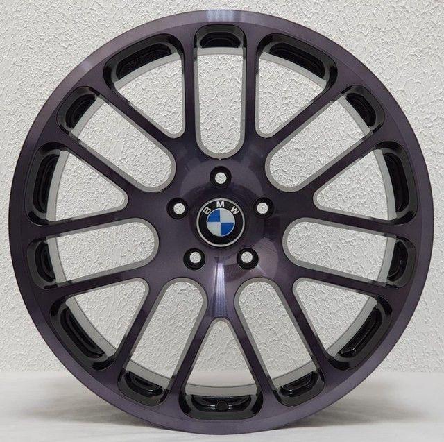 Rodas Aro 20x8,5' ET30 ZW317 5x120 BMW - Foto 4