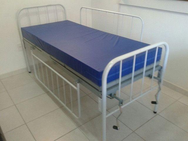 Cama Hospitalar Manual (Aluguel Mensal)