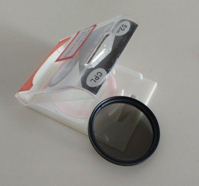 Filtro polarizador para lentes 52mm