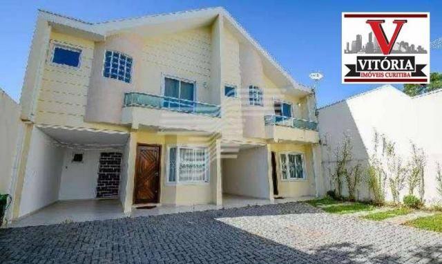 Sobrado residencial à venda, barreirinha, curitiba - so0609.