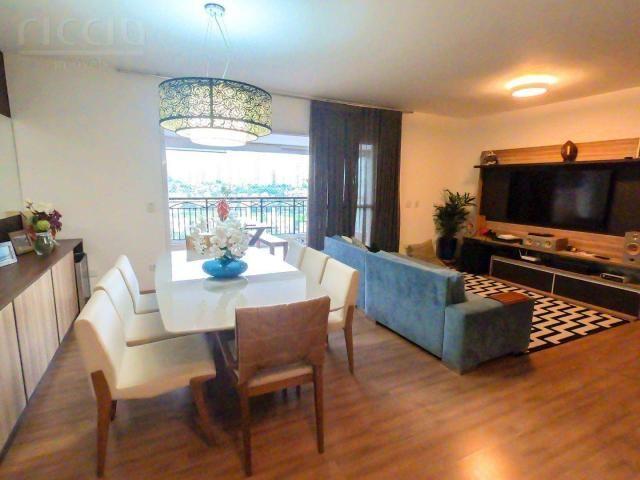 Maravilhoso apartamento no vila ema em sjc 4 dormitórios (3 suítes) 176 m² mega decorado 3 - Foto 3