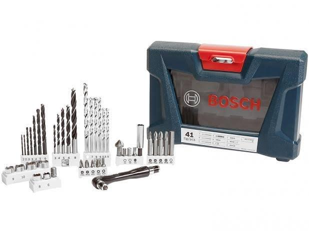 Kit Ferramentas Bosch 41 Peças V-Line 41 - Foto 2