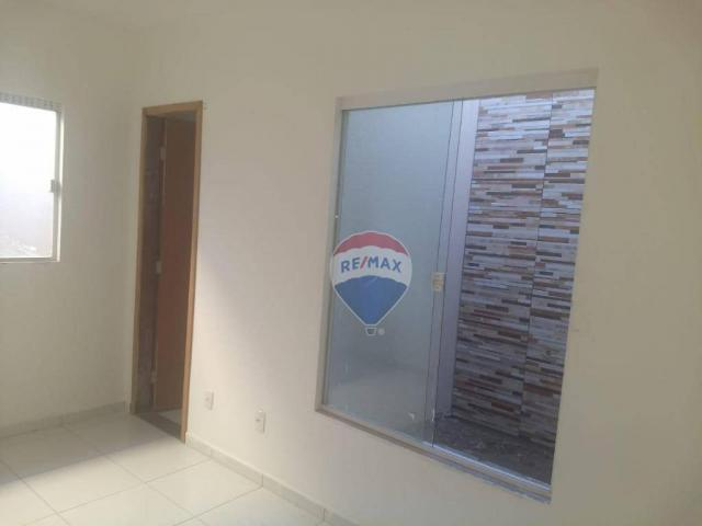 Casas Prox. ao Serv Club 02 quartos sendo um Suite - Foto 6