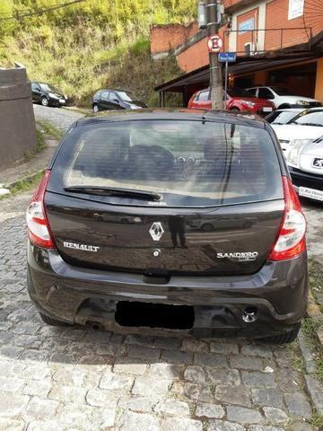 Sandero 2011 Expression 1.6 Flex completo R$ 21.900,00 - Foto 2