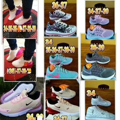 4480b5b3220 JL Calçados Tenis e Sapatenis Feminino - Roupas e calçados - Santana ...