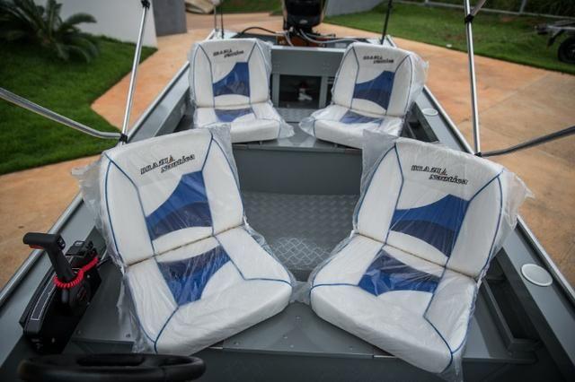 Barco Robalo com Console Brazil Nautica - Foto 6