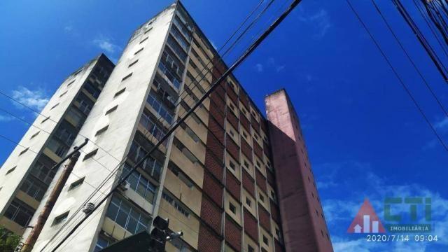 Apartamento com 1 dormitório para alugar, 32 m² por R$ 550,00/mês - Boa Vista - Recife/PE - Foto 2