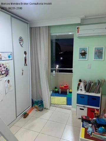 Excelente casa com 5/4, pronta para morar, em condomínio fechado, lazer e portaria 24 hs. - Foto 18