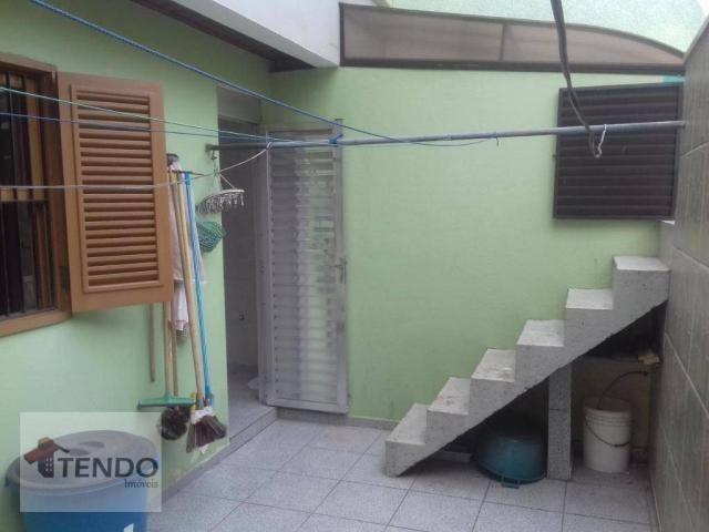 Sobrado - venda - 4 dormitórios, - 3 suítes - aluguel por R$ 4.600/mês - Vila Marlene - Sã - Foto 19