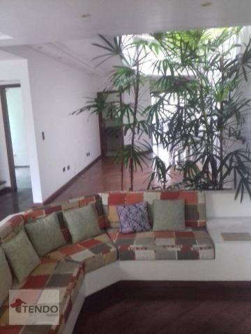 Sobrado - venda - 4 dormitórios, - 3 suítes - aluguel por R$ 4.600/mês - Vila Marlene - Sã - Foto 4