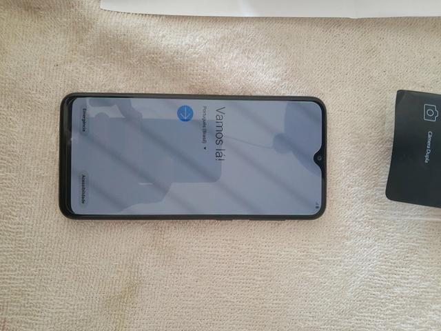 Celular Samsung A20 Azul novo ( aceito cartão) - Foto 4