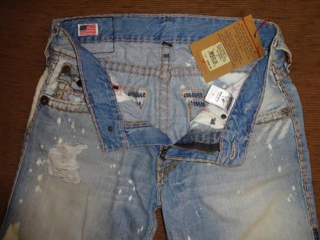 Calca Jeans True Religion 31 Us 40-42 Br Pronta Entrega Nova - Foto 3