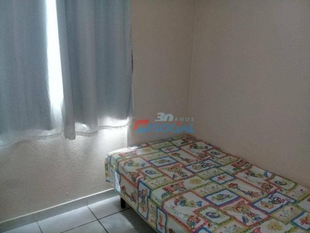 Excelente apartamento mobiliado para locação, cond. porto velho service, apt 207, porto ve - Foto 11