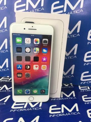 Apple IPhone 8 Plus 64Gb Prata - Seminovo - com nota e garantia, somos loja fisica