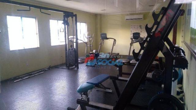 Apartamento mobiliado para locação, cond. porto velho residence service - aptº 1103 - noss - Foto 5