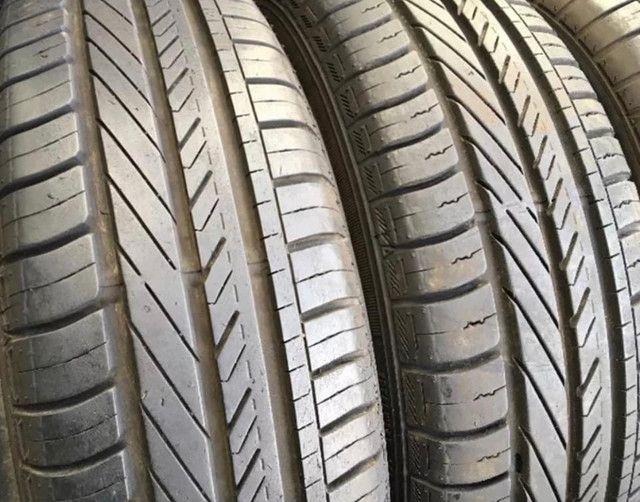?Pneus semi novos 205/55-16 Bridgestone - Foto 16