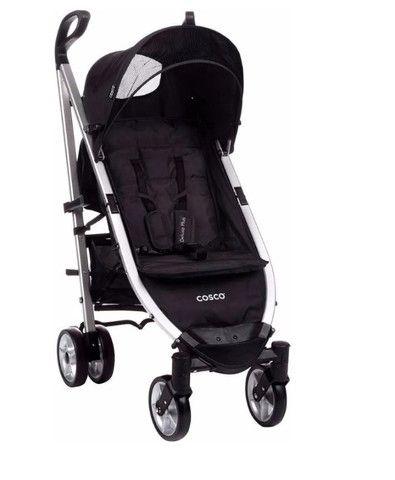 Carrinho de passeio bebê Cosco Preto