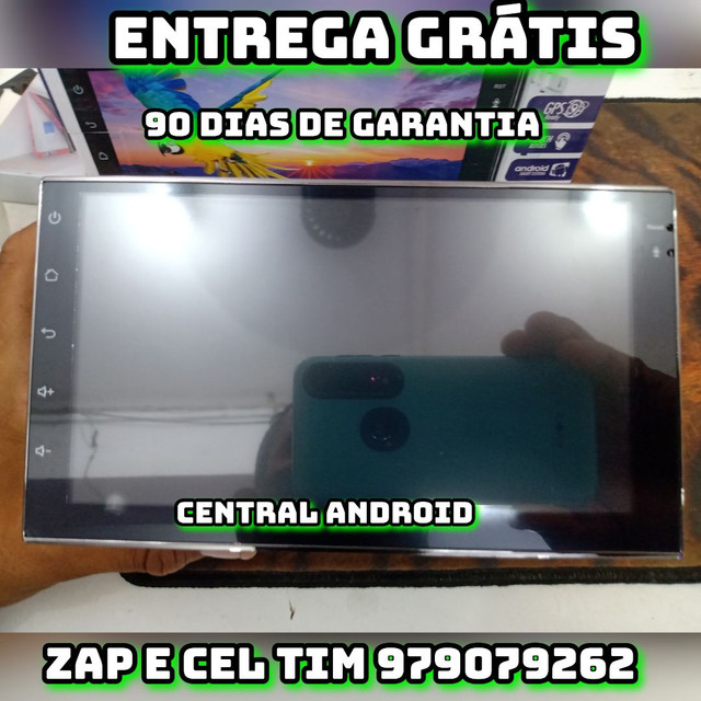 Central multimidia android 7 polegadas HD TOUCH SCREEN - Foto 2