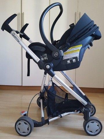 Carrinho de bebê e bebê conforto - Foto 5