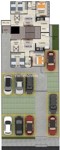 Apartamento à venda com 2 dormitórios em Serra dourada, Vespasiano cod:847933 - Foto 9