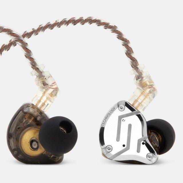 Fone De Ouvido Kz Zs10 Pro In-ear - Retorno Profissional - Foto 3