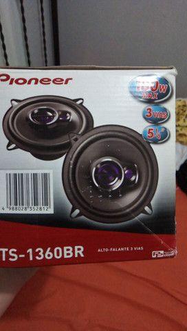 "Kit 2 Caixa de som tweeter Pioneer 50w 5"" - Foto 2"