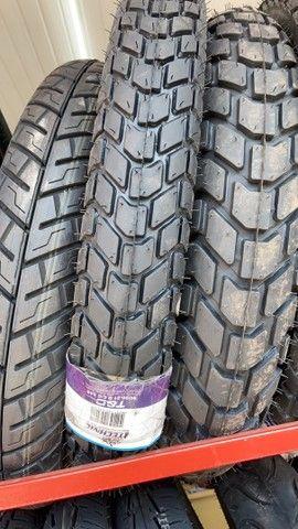 Pneu traseiro para motos marca technic Bross Crosser entrega todo Rio  - Foto 2