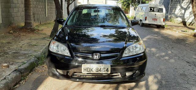 Honda Civic LX 2005/06 completo - Foto 2