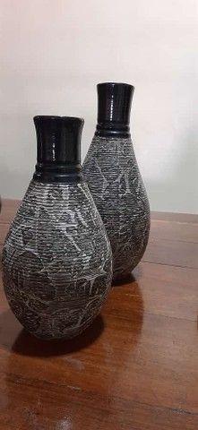 vasos decorativos de cerâmicas lindos