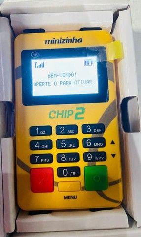 Máquininha de passar cartão de crédito e débito entrega gratuita