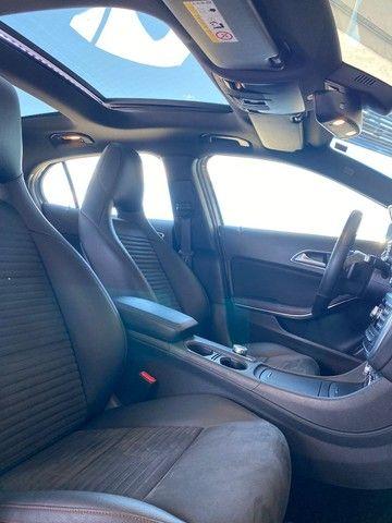 Mercedes GLA 250 Sport 2.0 2015 impecável, teto solar panorâmico, rodas 19, aceito troca - Foto 6