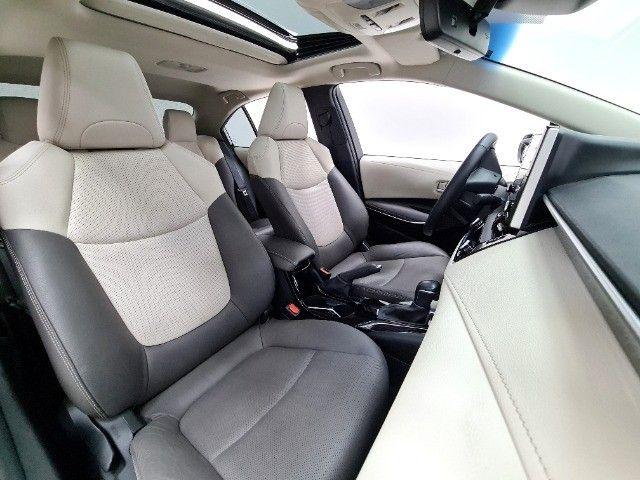 corolla altis premium hybrid 1.8 flex 2021 aceito troca - Foto 10