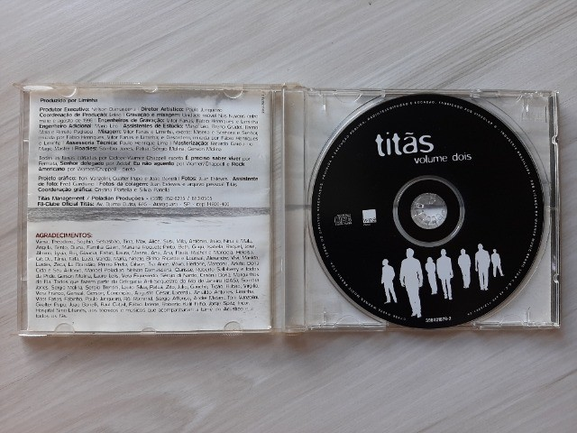 CD Titãs - Volume Dois - Foto 3