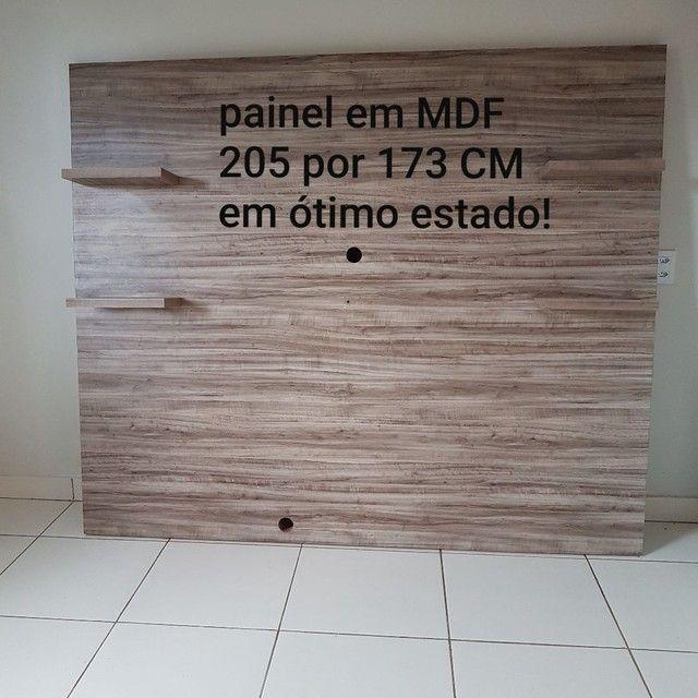 Painel em MDF 205 CM por 173 CM
