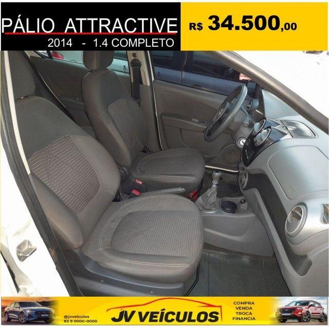 Palio attractive 1.4 completo (2014 economy) - Foto 6
