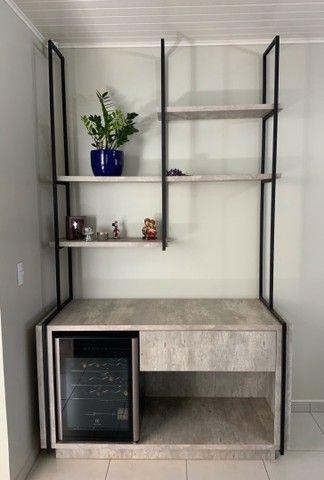 Rack + estante para adega/bar - Foto 2