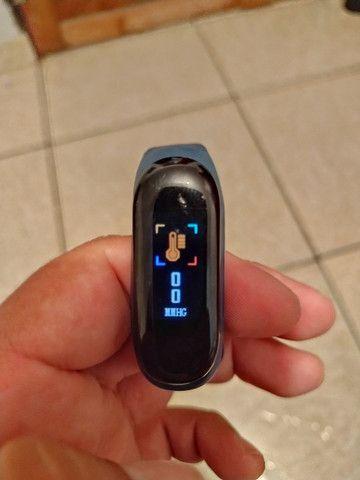 Relógio Inteligente com monitor cardíaco - Foto 5