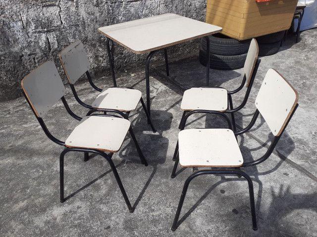 Mesa +4 cadeiras INFANTIL  - Foto 5